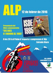 a les 20h al Palau de congressos d'Alp